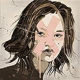 Kyra - Original Portrait Art Abstract Portrait Art Urban Expressionist Painting Modern Decor by Renowned Artist Jimmi Toro
