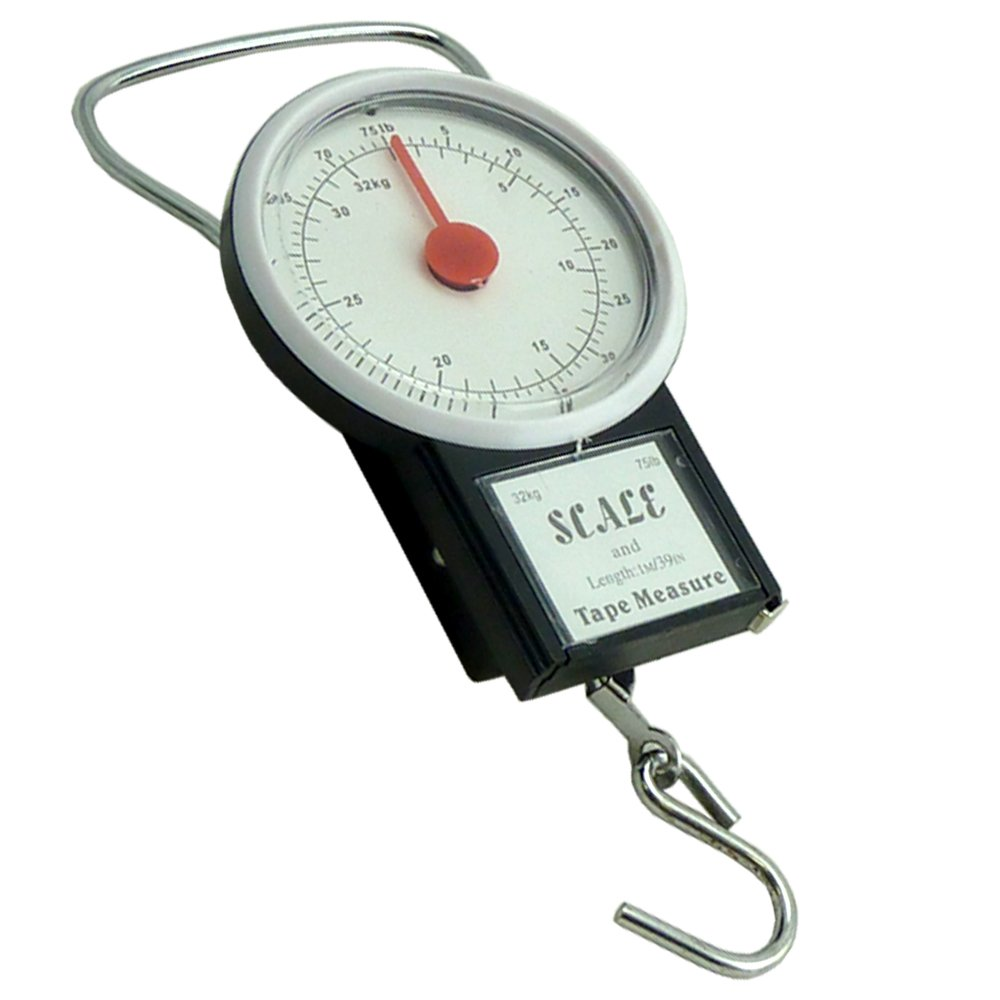 Value 4 Money - Báscula para equipaje 1 Luggage Scale: Amazon.es: Equipaje