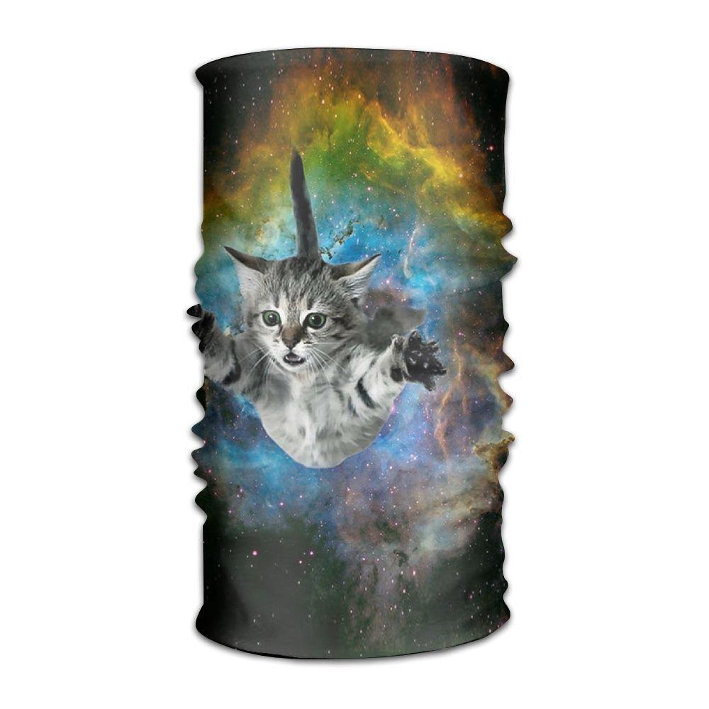 Galaxy Cat Universe Kitten Headwear For Men And Women-Yoga Sports Travel  Workout Wide Headbands 3061e14f6c