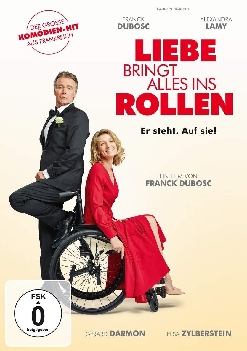 Cover: Liebe bringt alles ins Rollen 1 DVD (circa 104 Minuten)