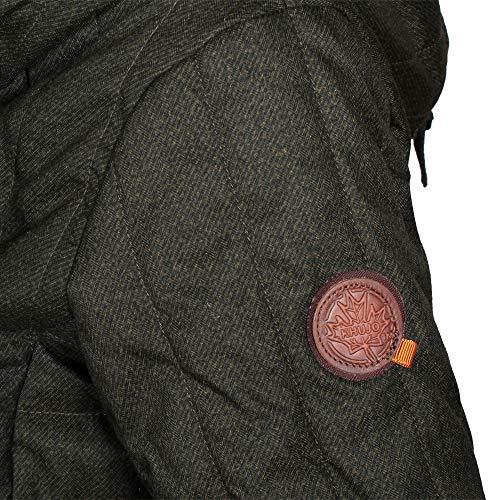 2 Olive De Abrigo Jerry Melange Invierno Khujo Mujer Prime 0TxFZPY
