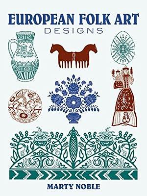 european folk art designs dover pictorial archive