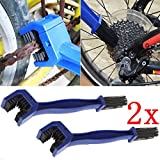 yunita_1106stores Motorcycle Bike Bicycle Motocross Chain Wheel Cleaning Brushes Wash Cleaner Tool