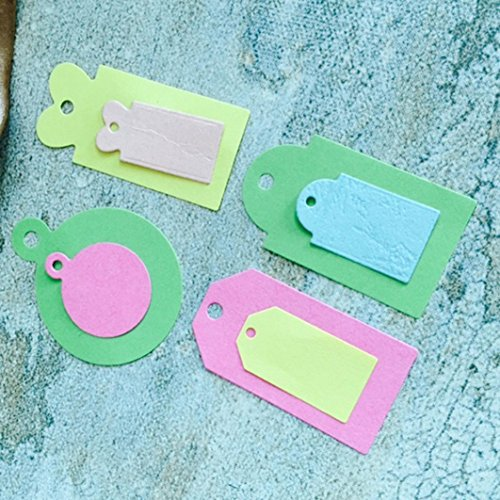 Iusun DIY Metal Cutting Dies Stencils Scrapbooking Album Paper Card Craft Decor Gift (E)