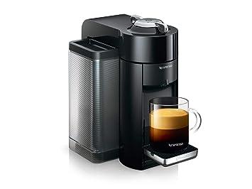 De Longhi Nespresso vertuo | env 150.r Cafetera de cápsulas Schwarz mit Flow