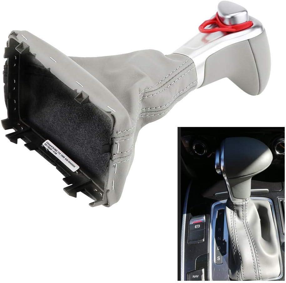 Gaiter Boot Cover DSG S-Tronic for B8 A4 A5 Q5 2009-2016 Gear Shift Stick Knob Acouto Shift Knob Gaiter Boot 8KD 713 139B AOE