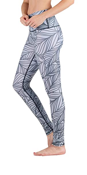 Yoga Democracy Eco-Friendly Urban Camo in Steel Leggings ...