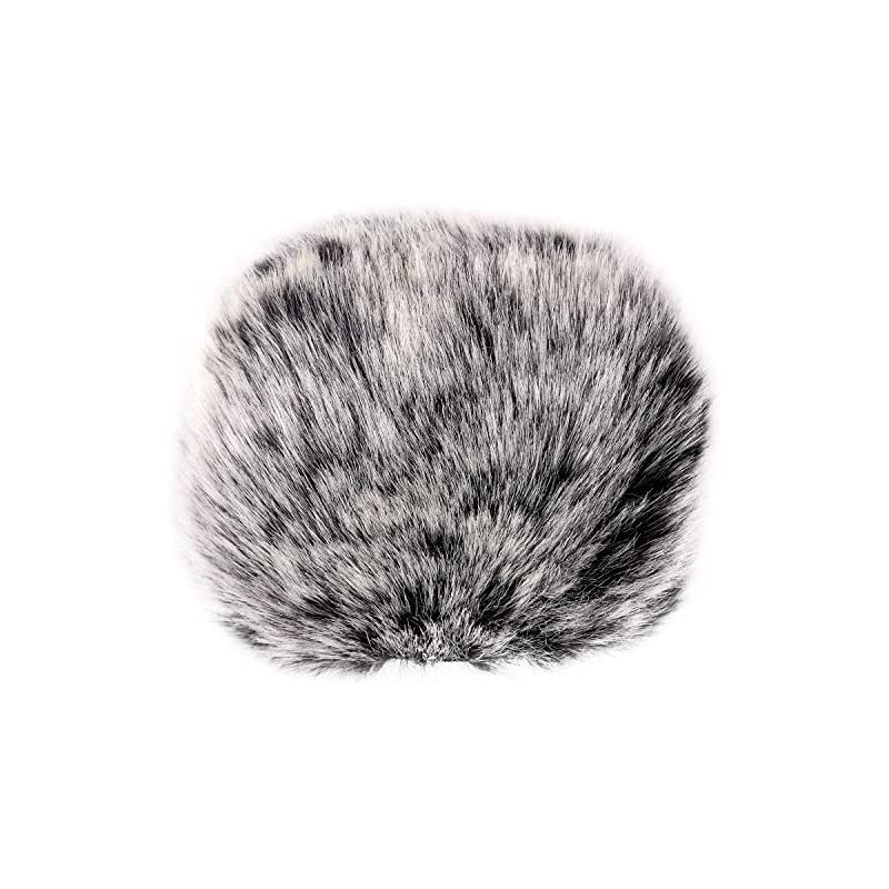 ChromLives Outdoor Furry Microphone Wind