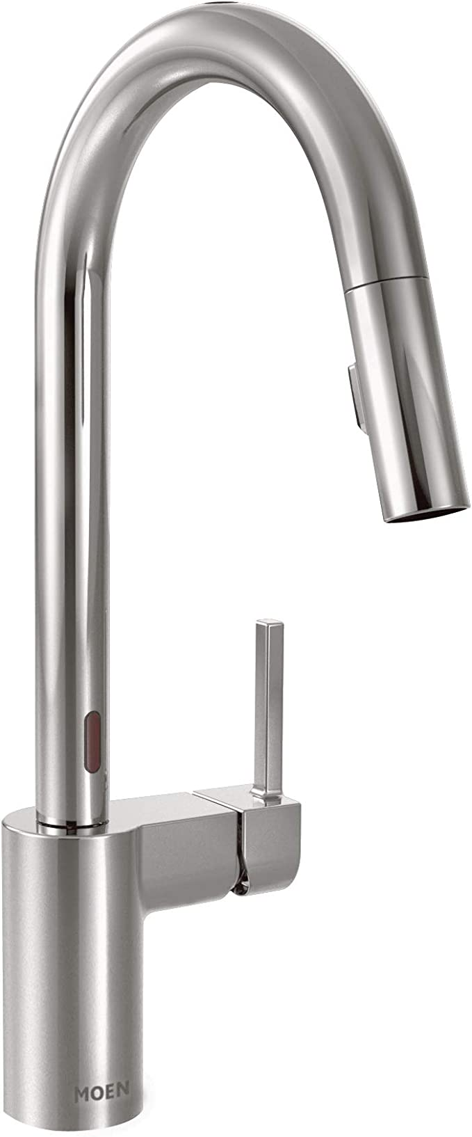 Moen 7565ec Align Motionsense Two Sensor Touchless One Handle High Arc Modern Pulldown Kitchen Faucet With Reflex Chrome Amazon Com
