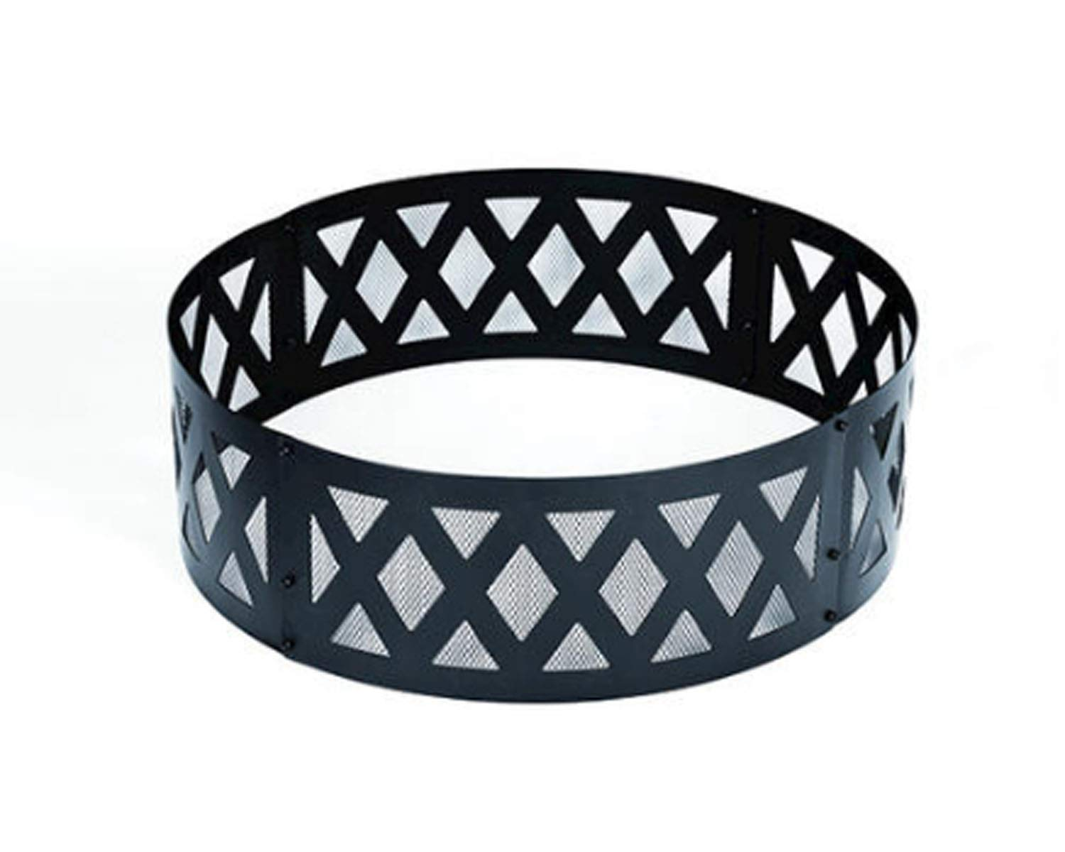 Wisechoice Lattice Heavy Duty Fire Ring | Ideal for Keeping Campfires Contained by Wisechoice