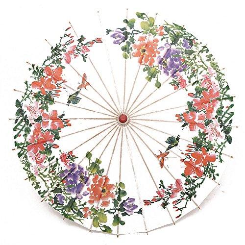 BerlBerlRainproof Handmade Chinese Oiled Paper Umbrella