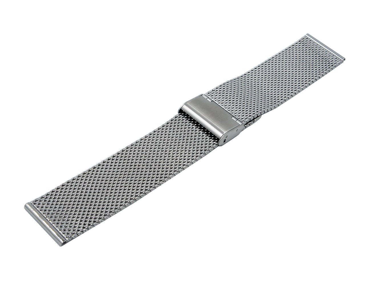 Amazon.com: 24mm Stainless Steel Milanese Metal Watch Band ...