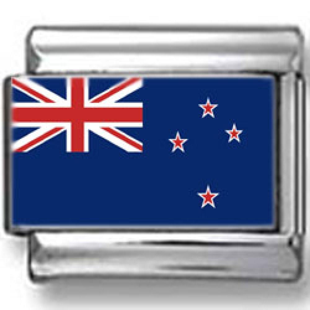New Zealand Flag Italian charm