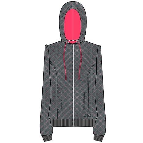 Vans Sudadera con capucha y cremallera para mujer gris Gris Talla:small
