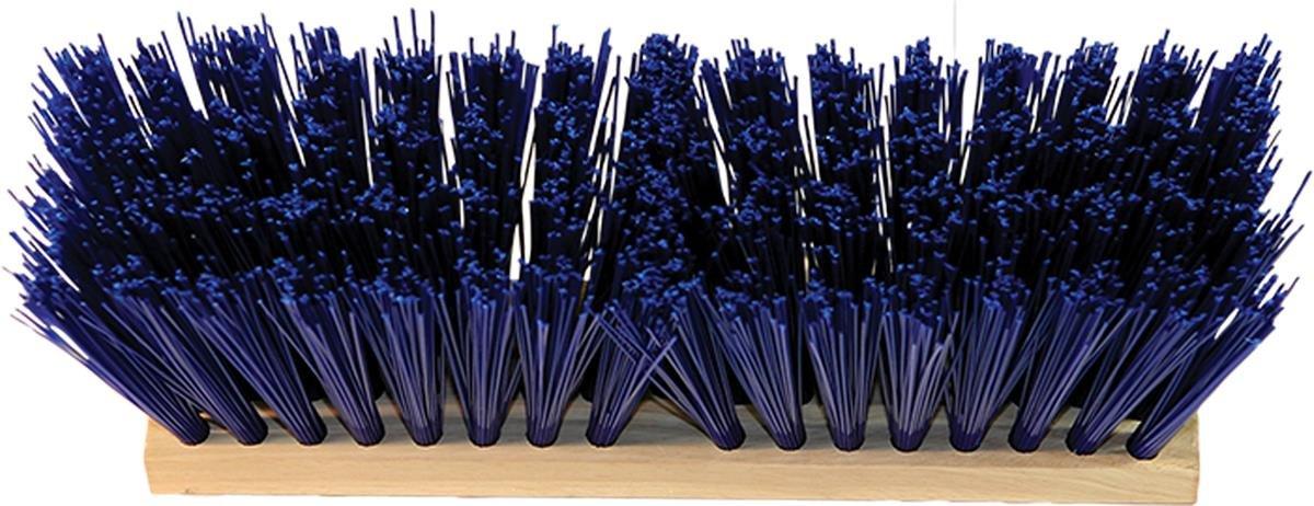 HAMBURG/NEXSTEP COMM PROD 20612 Heavy Duty Head Only Street Broom, Blue, 16''