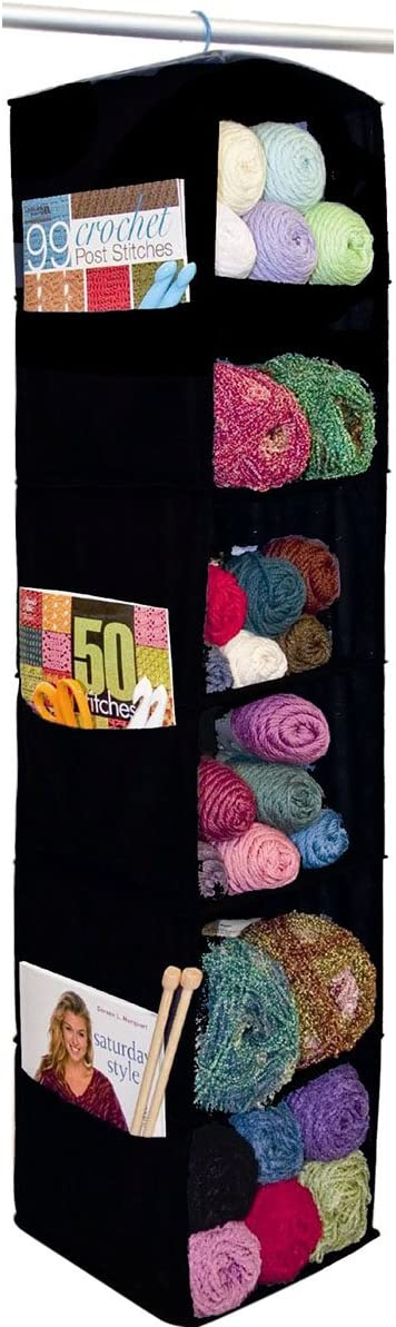 Innovative Home Creations Yarn and Craft Organizer Shelfs