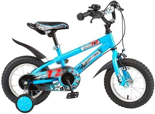 AJZGF Bicicletas niños Bicicleta for niños de 3 a 8 años, niña y ...