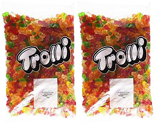 Trolli Classic Bears Gummi Candy (Bulk ( 2 X 5 Lb)) (Trolli Gummi Bears)