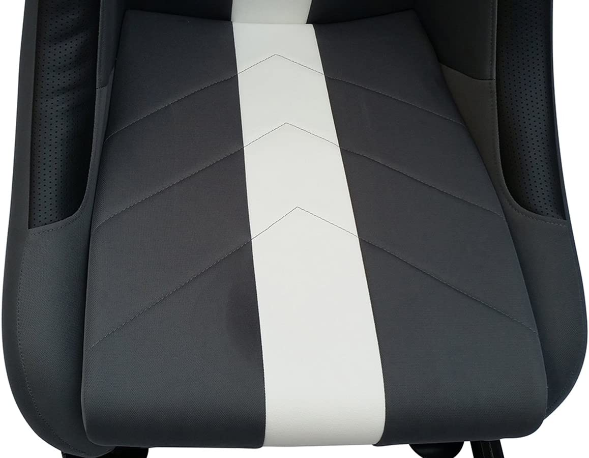 Fk Automotive Game Seat Spielsitz Für Pc Und Spielekonsolen Stoff Grau Weiß Games