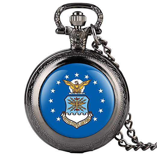 Reloj de Bolsillo para Hombre, diseño de águila Azul, Reloj de Bolsillo para niño, Reloj de Bolsillo Digital árabe para Adolescentes: Amazon.es: Relojes
