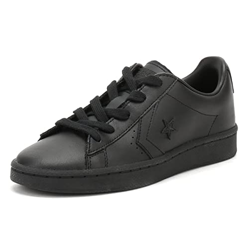 5b2ca6109db5c Converse PL 76 OX Youth Trainers Boys Black Low top Trainers: Amazon ...