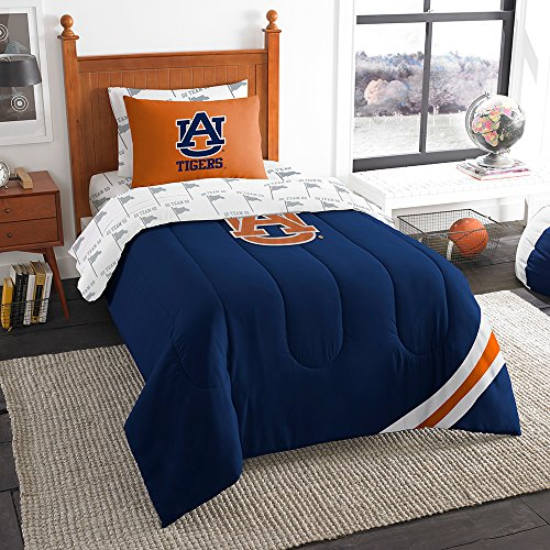 The Northwest Company 5-Piece NCAA Auburn Tigers Comforter S