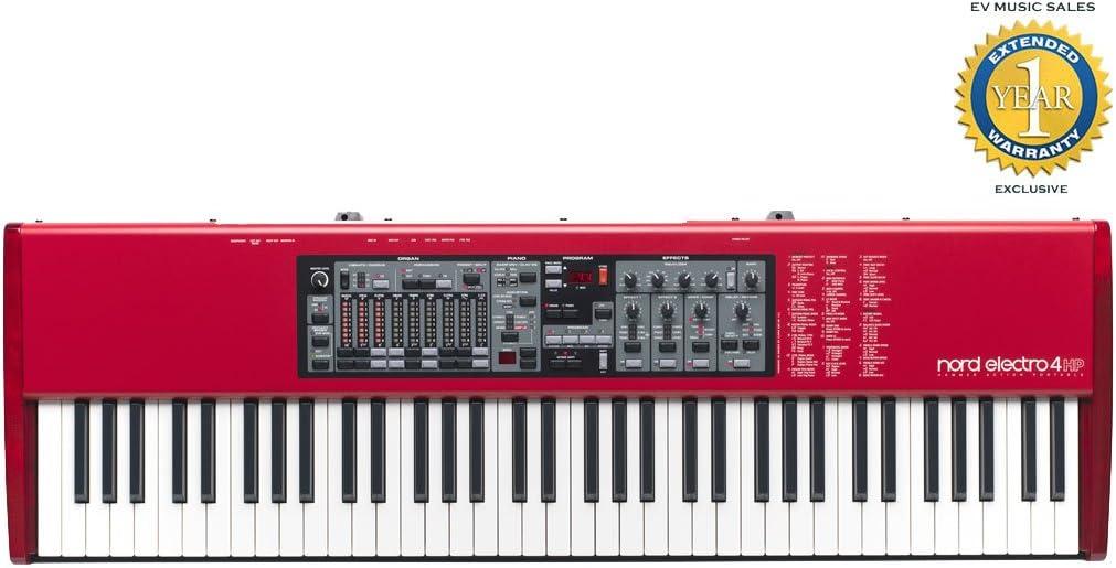 Nord Electro 4 HP 73-clave teclado ponderado de acción ...