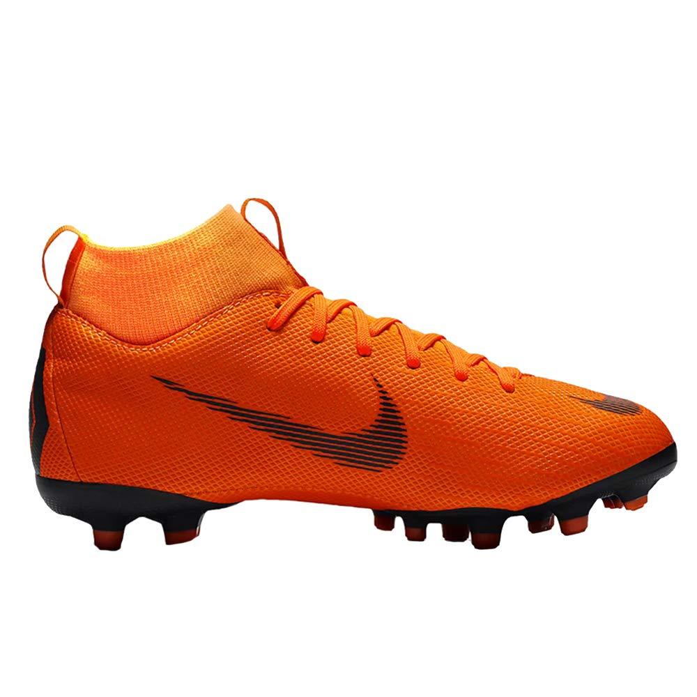 Nike Junior Superfly 6 Academy GS MG Football Boots AH7337 Soccer Cleats (UK 3 US 3.5Y EU 35.5, Total Orange Black 810)