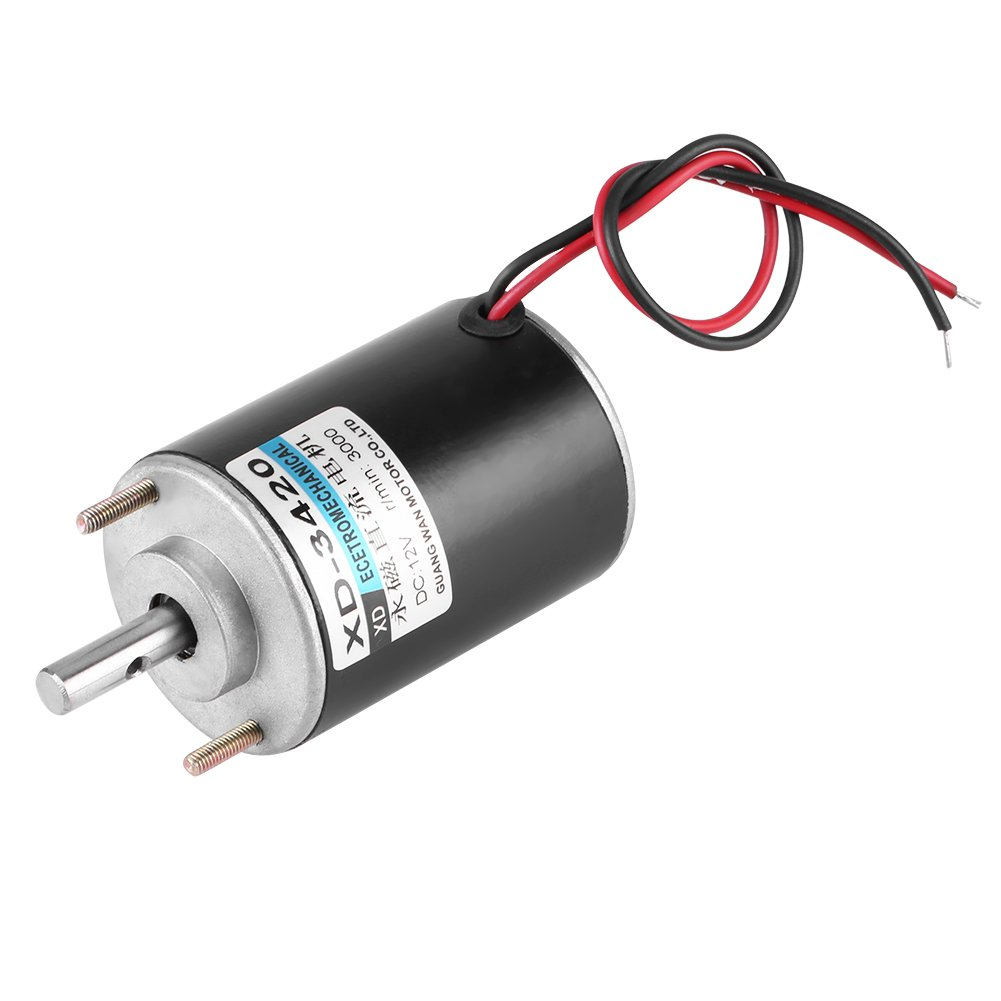High Torque DC Motor 12V 3000RPM Permanent Magnet Motor High Speed