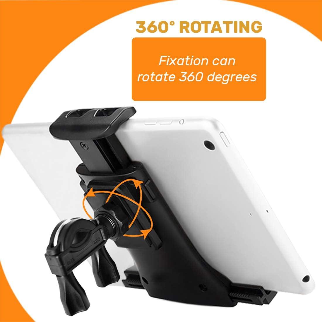 Antber Soporte Tablet Bici estatica Compatible con iPad Bicicleta ...