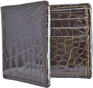 product image for President - Handmade Brown Alligator Wallet