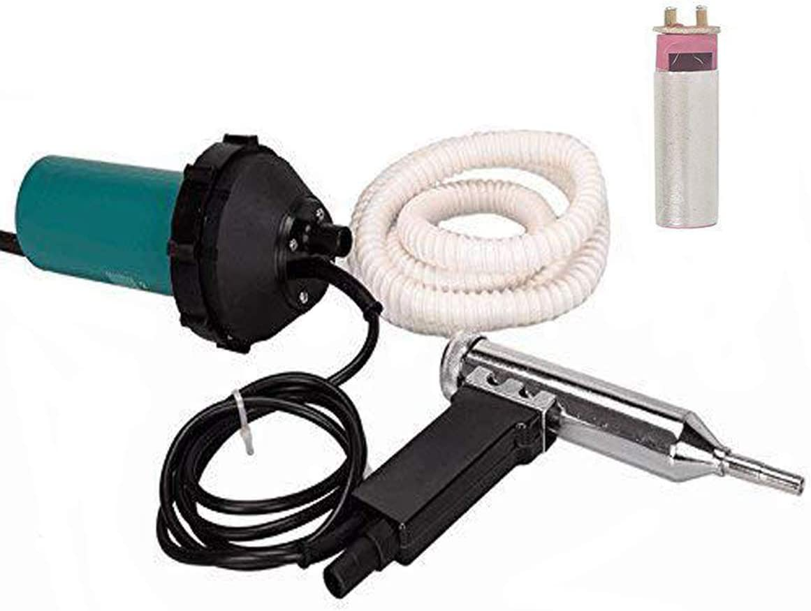 Go2Home 1080W Split Hot Air Gas Plastic Welder Welding Heat Gun Kit Welder Hot Gas Pistol