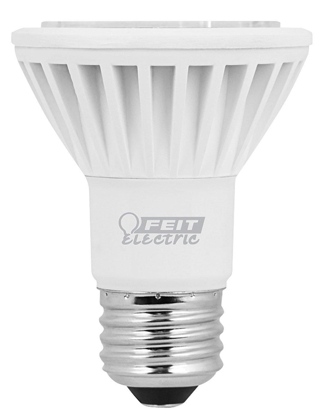 Feit Electric Dimmable 50 Watt Equivalent PAR20 LED Reflector - Led Household Light Bulbs - Amazon.com  sc 1 st  Amazon.com & Feit Electric Dimmable 50 Watt Equivalent PAR20 LED Reflector ... azcodes.com