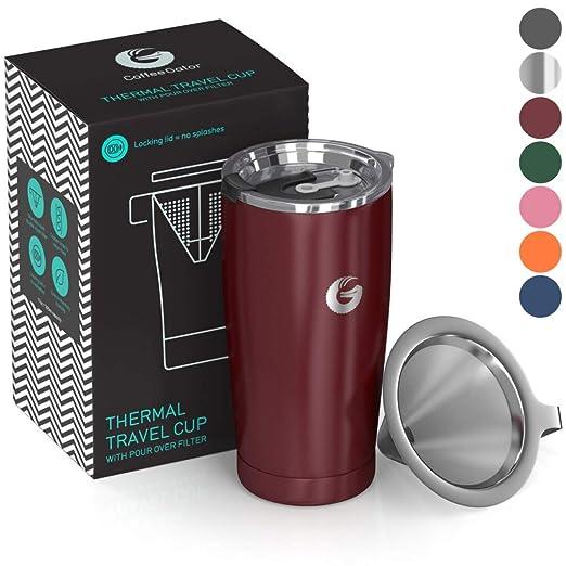 Cafetera para hacer café - todo en uno - Calentador de viaje sin ...