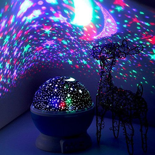 LED Night Lighting Lamp -Elecstars Light Up Your Bedroom With This Moon, Star,Sky Romantic - Best Gift for Men Women Teens Kids Children Sleeping Aid Gifts For Kids