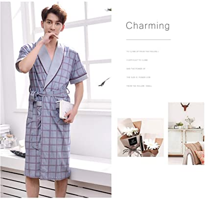 complete in specifications highly coveted range of diversified in packaging Amazon.com: BIANJESUS Men Sleepwear Lightweight Cotton Short ...