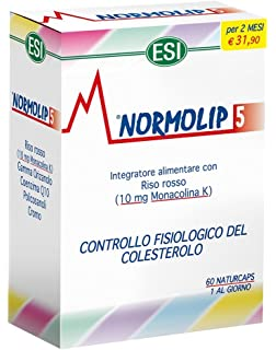 ESI Normolip 5 Cholesterol Formula - Pack of 60 Capsules