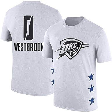 Westbrook Thunder OKC Westbrook Camiseta de Entrenamiento de ...