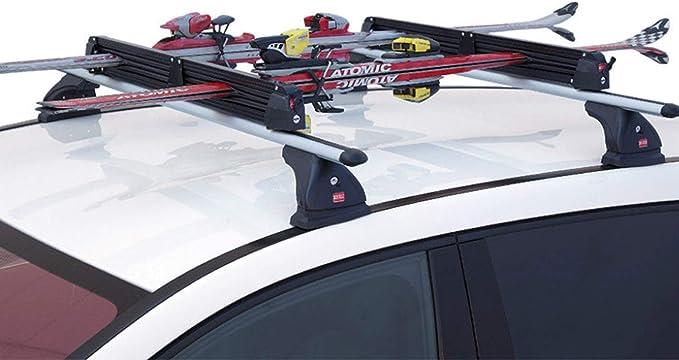5 PAAR SKI// 2 SNOWBOARDS ALUSKI DACH SKITR/ÄGER UND SNOWBOARDTR/ÄGER FABBRI