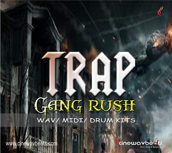 Amazon com: cb 1179 Trap Gang Rush Music, MIDI / WAV / mp3