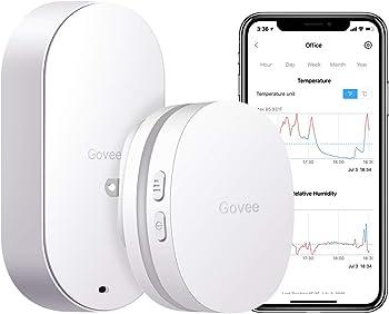 Govee WiFi Digital Indoor Outdoor Hygrometer Thermometer