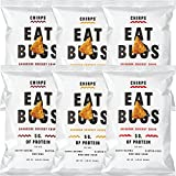 Chirps Cricket Chips Variety Pack, Gluten-free, High Protein - 1.25 Oz (Pack of 6)