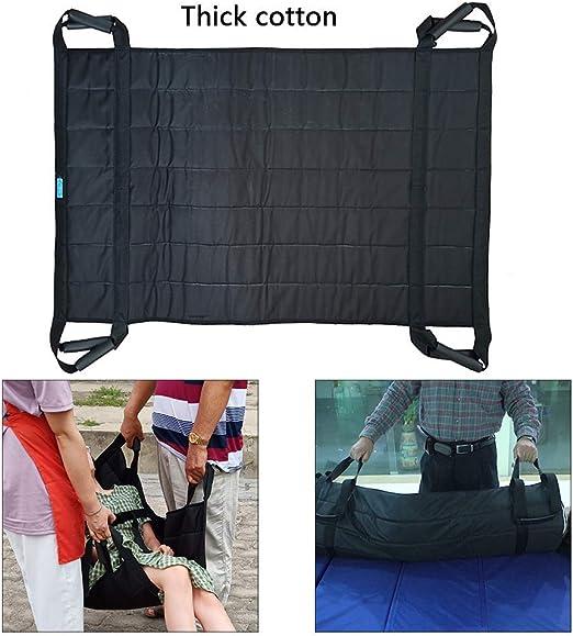 ZFAZF Cinturón Transferencia Pacientes Evacuación Emergencia Elevación Paciente Escalera Portaobjetos Transferencia para Personas Mayores: Amazon.es: Hogar