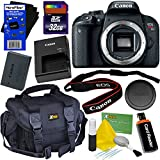 Canon EOS Rebel T7i Digital SLR Camera (Body Only) International Version + 32GB SD Memory Card + Large Case + Accessory Kit w/ HeroFiber Ultra Gentle Cleaning Cloth