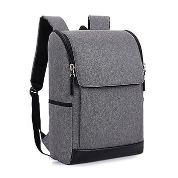 SODIAL Mochila para ordenador portatil delgada Bolsa de libro de escuela ligero Mochila de computadora de negocios para mujeres y hombres apto ordenador ...