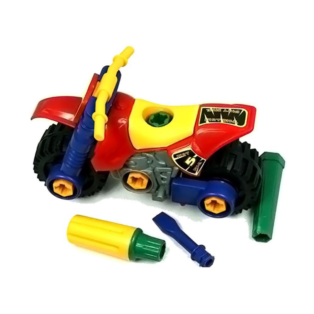 Demontage Stilvolle Motorrad Spielzeug mamum Fashion Demontage Motorrad Design Bildungs-Spielzeug f/ür Kinder Kinder