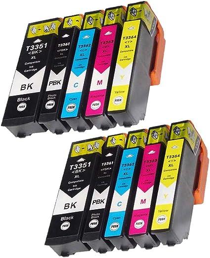 Teng® - Cartuchos de Tinta para Epson Expression Premium XP-540 ...