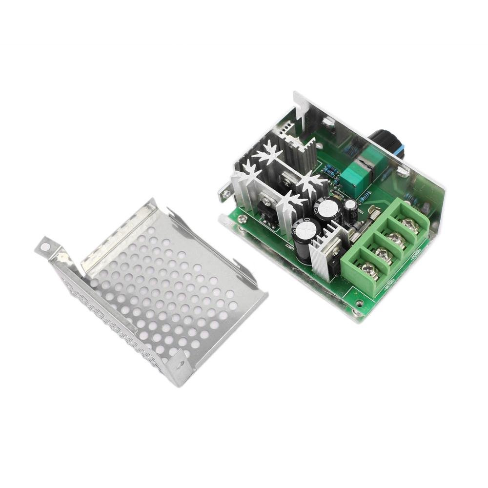 Guteauto 10-60V 20A Adjustable PWM DC Motor Speed Controller Regulator Switch with Reverse Polarity Protection by Guteauto (Image #3)