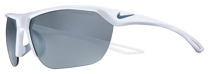 Nike Trainer S EV1063 Gafas de Sol, Plateado (S So WH W/Grey ...