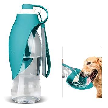 Botella de agua para perros para caminar, dispensador de agua para ...